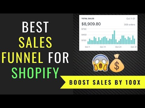 BEST Shopify Dropshipping Sales Funnel To Boost Sales
