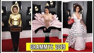 Los GRAMMYS 2019 - Mejor y Peor Vestidos de la ALFOMBRA ROJA  - BTS -CARDI B-  & MÁS