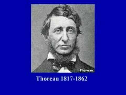 Thoreau on Civil disobedience