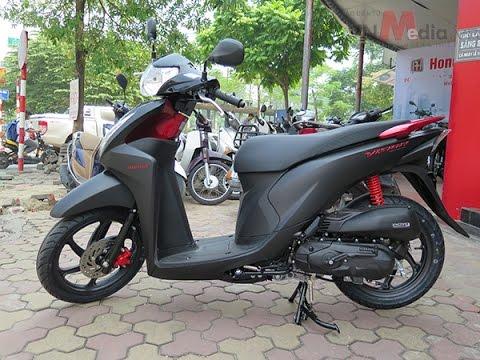Chi Tiết Honda Vision 2016 Màu đen Nhám