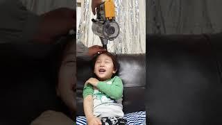 LG코드제로/청소기성능테스트/아들머리묶기