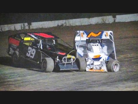 Limited Sportsman Main Event - Albany Saratoga Speedway July 29, 2016