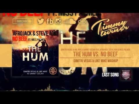 Dimitri Vegas & Like Mike & Ummet Ozcan feat. Miss Palmer - The Hum vs. No Beef (DV&LM Mashup)
