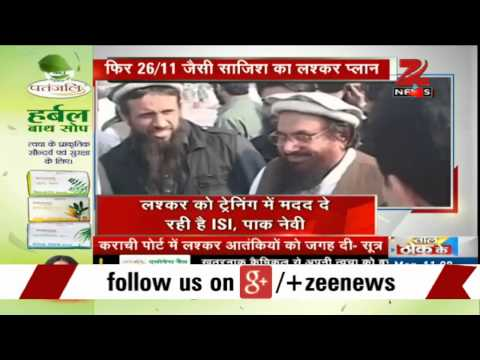 Lashkar-e-Toiba plotting 26/11-style attack in India with help of Pak Navy, ISI?