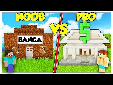 BANCA NOOB CONTRO BANCA PRO! - Minecraft ITA