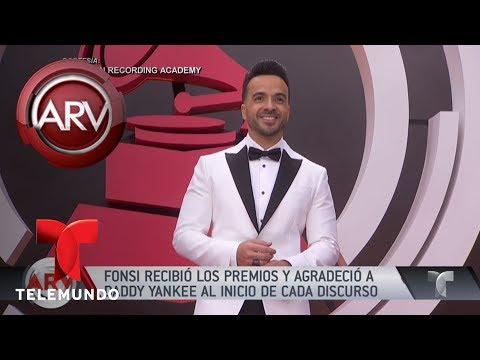 Luis Fonsi celebró su triunfo, sin Daddy Yankee | Al Rojo Vivo | Telemundo