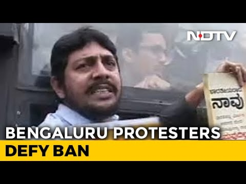 'India Is Ours, Will Die For It': Bengaluru Locals Protest Despite Prohibitory Orders