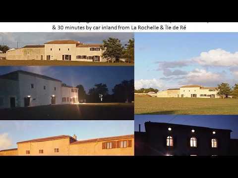 LA GRANDE MAISON - 7 BEDROOM HOLIDAY RENTAL GITE - SLEEPS 16 - IN THE MARAIS POITEVIN