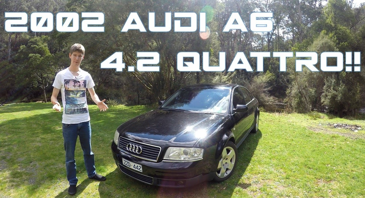 2002 audi a6 4 2 quattro review threadcar youtube. Black Bedroom Furniture Sets. Home Design Ideas