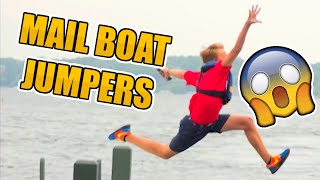 Mail Boat Jumpers Fail Compilation
