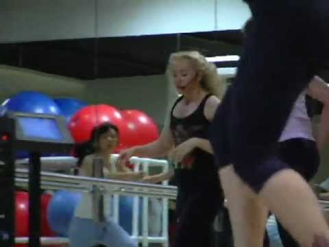 Lauren Kattuah Functional Fitness Class at Equinox Fitness Beverly Hills