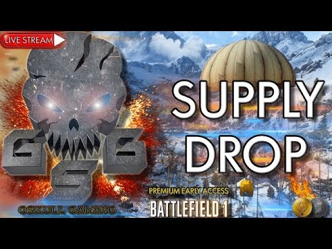 SUPPLY DROP NEW GAME MODE RUSSIAN DLC | BATTLEFIELD 1 | ROAD TO 1K SUBS | LIVE STREAM