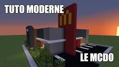 Minecraft - Tuto ville moderne #05 - Le Mcdo