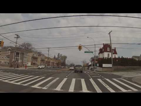 Driving from New Dorp (Staten Island) to Riis Landing (Queens) - home of American Princess Cruises