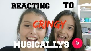 REACTING TO CRINGY MUSICAL.LYS