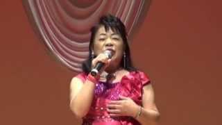 藤まりこの天の川哀歌を中薗節子さんが発表会で歌っています。