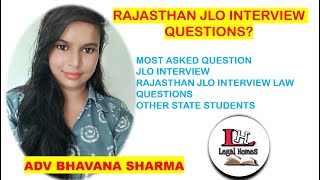 RAJASTHAN JLO INTERVIEW QUESTIONS?