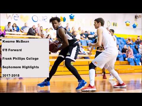 Kwame McBean 2017-2018 Sophomore Highlights