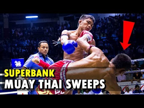 Superbank's Finest Sweeps Part 1 | Muay Thai Mastery