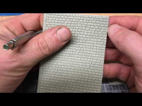 Building A OO Gauge Model Railway: In Brief – Interlinking Wills Cobble Sheets