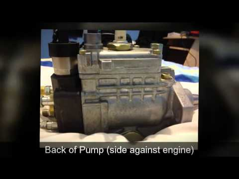 1KZT-E Toyota Denso Injection Pump in Depth look - Landcruiser/colorado/prado