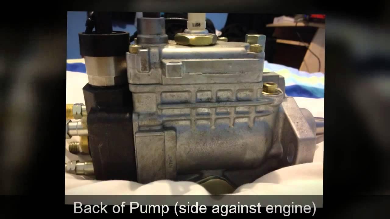 1KZTE Toyota Denso Injection Pump in Depth look
