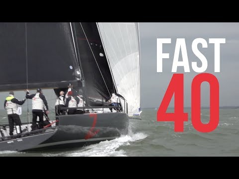 Fast 40 Grand Prix Yacht Racing - hosted by the Royal Southern Yacht Club in the Solent