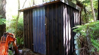 How to build a basic portable timber shed/hut in a few days using basic tools