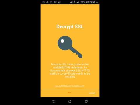Successfully decrypt SSL/HTTPS traffic using ANDROID