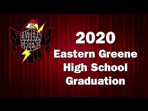 2020 Eastern Greene High School Graduation