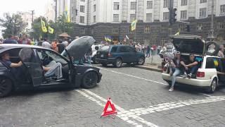 """Київ, мітинг """"Доступне Авто кожному українцю"""""""