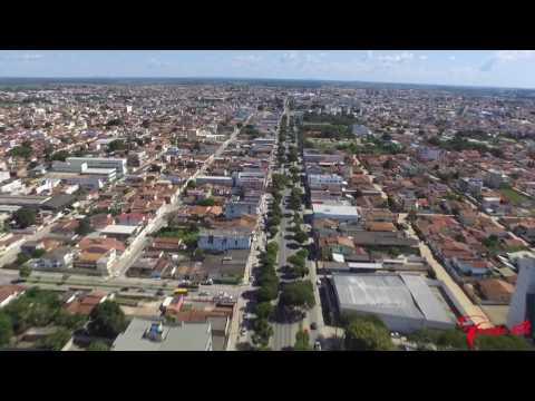 Voo de drone em Teixeira de Freitas / BA