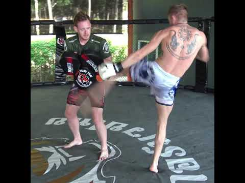 Pascal Schroth training for WKU World Title defence