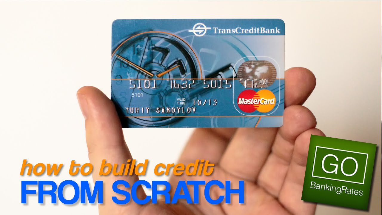 How to Build Credit With No Credit History - YouTube