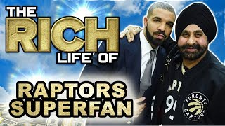 Nav Bhatia | The Rich Life | $50 Million Dollar Toronto Raptor Super Fan