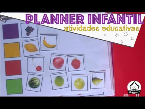 Planner infantil: atividades didáticas para fazer com crianças em idade pre-escolar