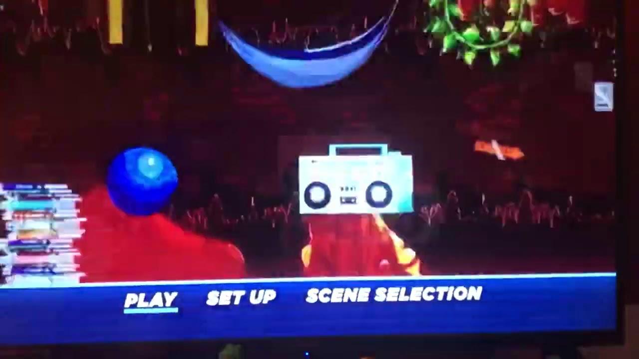 Sonic The Hedgehog 2020 Dvd Menu Walkthrough Youtube