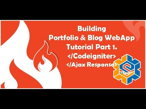Build A Codeigniter PHP (Website Portfolio & Blog - Part 7)