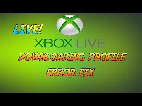 XBOX LIVE   Profile Download Error Fix - Easy Guide