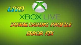 XBOX LIVE | Profile Download Error Fix - Easy Guide