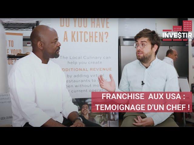 LA RESTAURATION EN FRANCHISE AUX USA : TEMOIGNAGE !