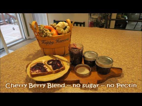 Cherry Berry Blend Jam~No Sugar, No pectin🍒Words of Encouragement from Paul...