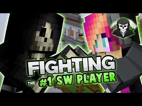 FIGHTING THE #1 SKYWARS PLAYER! ( Hypixel Skywars )