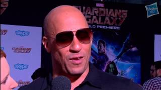 Vin Diesel Discusses Putting All Groot's Personality Into Three Words