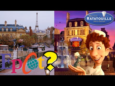EPCOT RATATOUILLE ATTRACTION? Walt Disney World Rumor! Permit Filed!