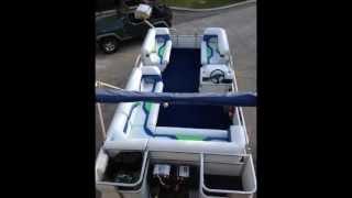 Veada Regatta Pontoon Boat Seats - Nfl Seattle Seahawks Restoration