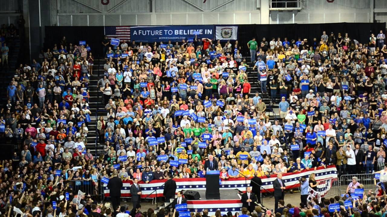 Bernie Sanders At Big Sandy Superstore Arena Huntington Wv Part 1 4 26 2016