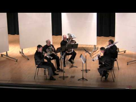 Richard Byrd: Sound Reflections for Brass Quintet