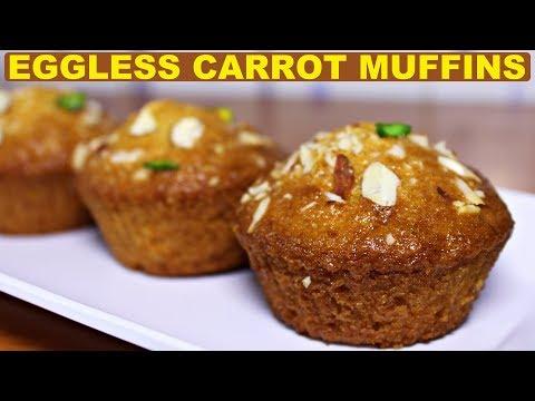How to make eggless carrot cake at home