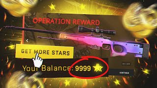 buying Operation Broken Fang stars until I get an AWP Fade...